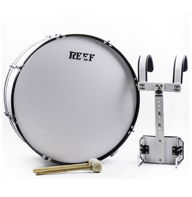 ROL-457 MARCHING BASS DRUM WITH MALLETS